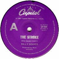 Cover Billy Squier - The Stroke