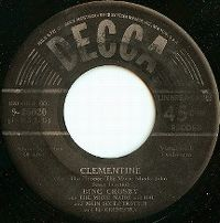 Cover Bing Crosby - Clementine