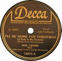 Cover Bing Crosby - I'll Be Home For Christmas (If Only In My Dreams)