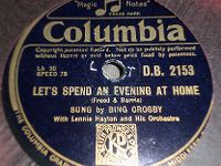 Cover Bing Crosby - Let's Spend An Evening At Home