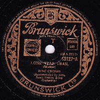 Cover Bing Crosby - Lone Star Trail