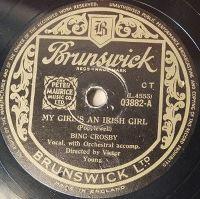 Cover Bing Crosby - My Girl's An Irish Girl