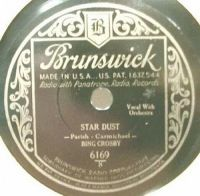 Cover Bing Crosby - Star Dust