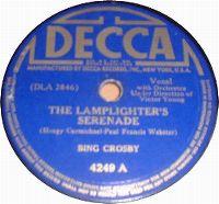 Cover Bing Crosby - The Lamplighter's Serenade