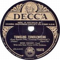 Cover Bing Crosby - Tumbling Tumbleweeds