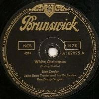 Cover Bing Crosby - White Christmas