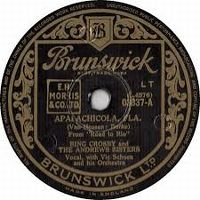 Cover Bing Crosby And The Andrews Sisters - Apalachicola, Fla.