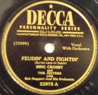 Cover Bing Crosby And The Jesters With Bob Haggart And His Orchestra - Feudin' And Fightin'