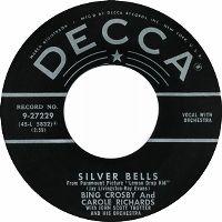 Cover Bing Crosby & Carole Richards - Silver Bells