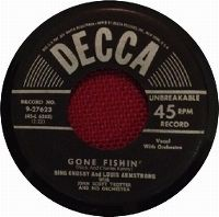 Cover Bing Crosby & Louis Armstrong - Gone Fishin'