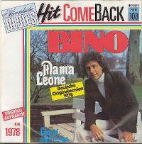 Cover Bino - Mama Leone (Deutsche Version)