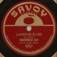 Cover Birmingham Sam - Landing Blues
