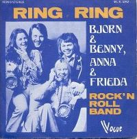 Cover Björn + Benny + Anna + Frieda - Ring Ring
