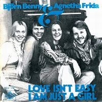 Cover Björn, Benny & Agnetha, Frida - Love Isn't Easy (But It Sure Is Hard Enough)