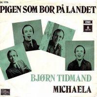 Cover Bjørn Tidmand - Pigen som bor på landet