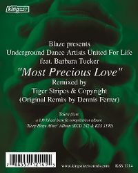 Cover Blaze pres. Uda feat. Barbara Tucker - Most Precious Love