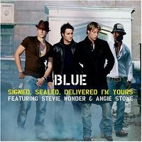 Cover Blue feat. Stevie Wonder & Angie Stone - Signed, Sealed, Delivered I'm Yours