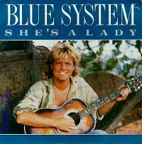 Cover Blue System - She's A Lady