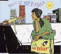 Cover Blur - Music Is My Radar