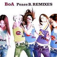Cover BoA - Peace B.REMIXES