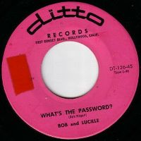 Cover Bob And Lucille - What's The Password?