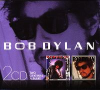 Cover Bob Dylan - Empire Burlesque + Infidels