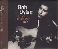 Cover Bob Dylan - Live At The Gaslight 1962