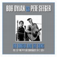 Cover Bob Dylan vs Pete Seeger - The Singer And The Song