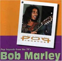 Cover Bob Marley - Pop Legends From The 70's
