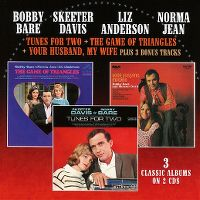 Cover Bobby Bare / Skeeter Davis / Liz Anderson / Norma Jean - 3 Classic Albums On 2 CDs