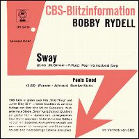 Cover Bobby Rydell - Sway