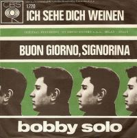Cover Bobby Solo - Ich sehe dich weinen