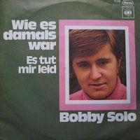 Cover Bobby Solo - Wie es damals war