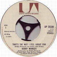 Cover Bobby Womack - That's The Way I Feel About 'Cha