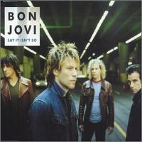 Cover Bon Jovi - Say It Isn't So