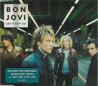 Cover Bon Jovi - Say It Isn't So