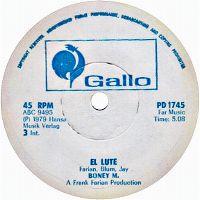 Cover Boney M. - El Lute