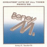 Cover Boney M. - Greatest Hits Of All Times - Remix '88
