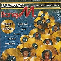 Cover Boney M. - The Best Of 10 Years - 32 Superhits - Non Stop-Digital Remix '86