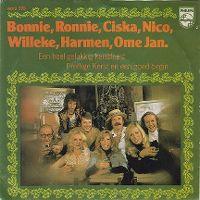 Cover Bonnie, Ronnie, Ciska, Nico, Willeke, Harmen, Ome Jan - Een heel gelukkig kerstfeest