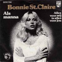 Cover Bonnie St. Claire - Als manna