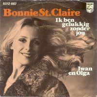 Cover Bonnie St. Claire - Ik ben gelukkig zonder jou