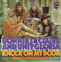 Cover Bonnie St. Claire & Unit Gloria - Knock On My Door