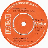 Cover Bonnie Tyler - Lost In France