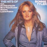 Cover Bonnie Tyler - The Hits Of Bonnie Tyler