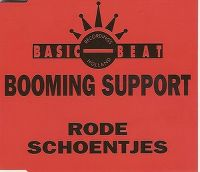 Cover Booming Support - Rode schoentjes