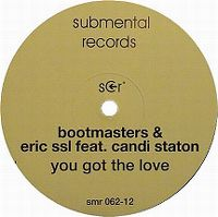 Cover Bootmasters & Eric SSL feat. Candi Staton - You Got The Love