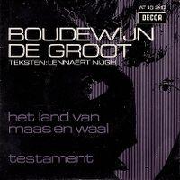 Cover Boudewijn de Groot - Het land van Maas en Waal