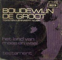 Cover Boudewijn de Groot - Testament