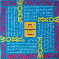 Cover Bow Wow Wow - Work (No Nah No No My Daddy)